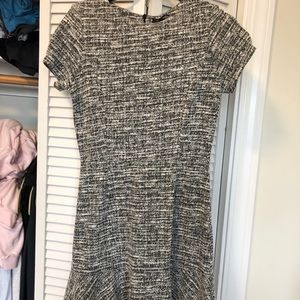 Aqua knit dress in size large worn once